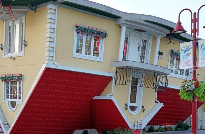 Topsy Turvy House