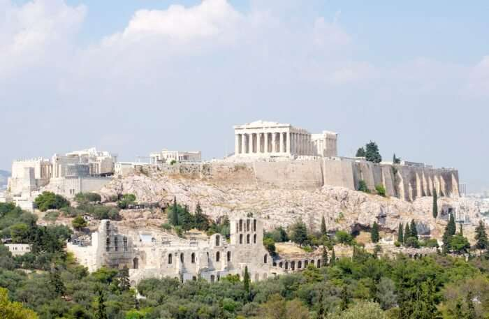 Tour Around The Acropolis
