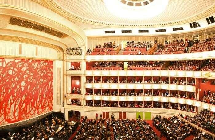 Vienna State Opera in Austria