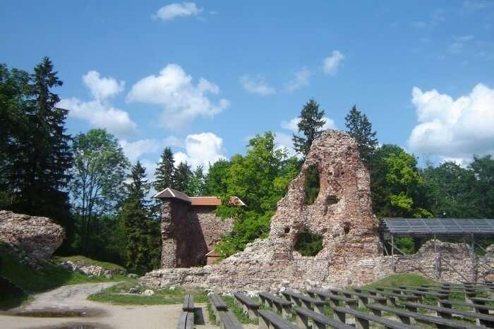 Viljandi In Estonia