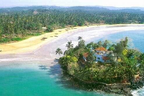 Villa at Taprobane Island