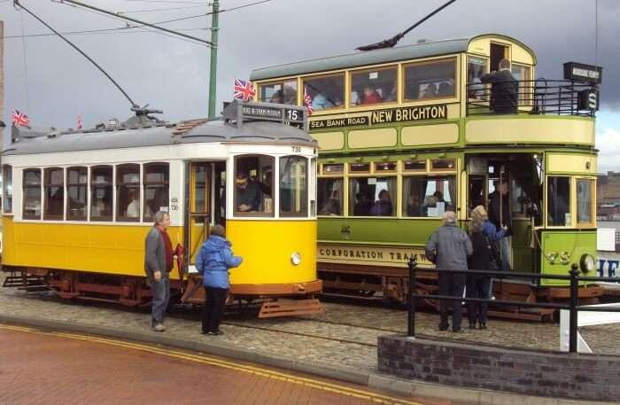 Vintage Tram view