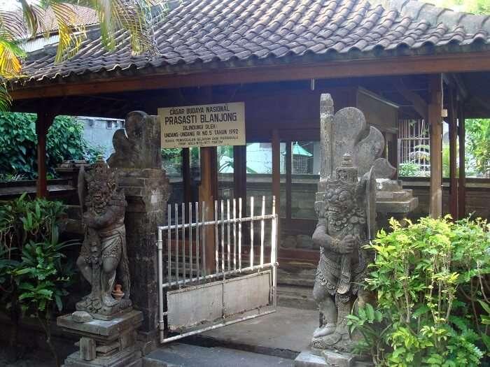 Visit Blanjong Pillar