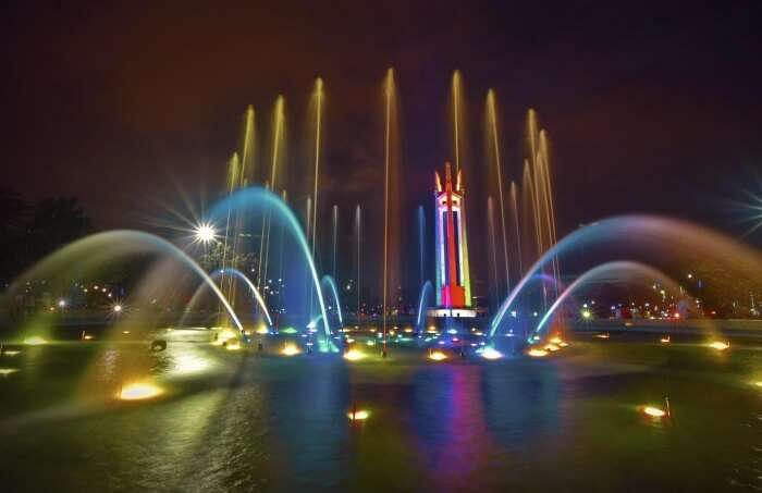 Visit the Quezon Memorial Circle to see the Quezon Memorial Shrine