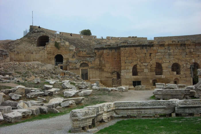 Visit the Roman ruins in Hierapolis