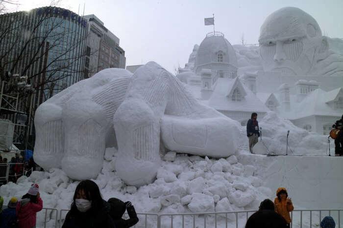 Visit the Sapporo Snow Festival