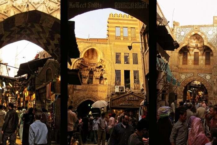 Visit the vivid Khan El Khalili bazaar