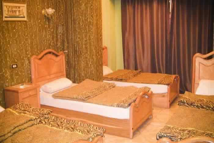 Luxury bed of hostel