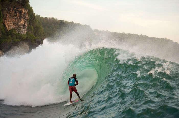 Water Sports At Padang Padang Beach