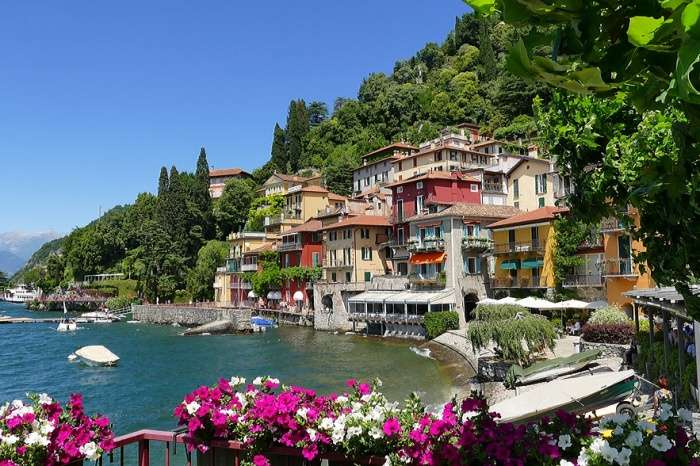 City Holiday Italy Lake Como Lake Varenna
