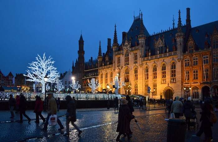 Winter Festivals In Bruges