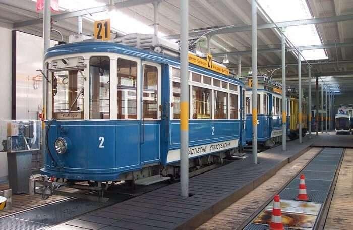 Zurich Tram Museum