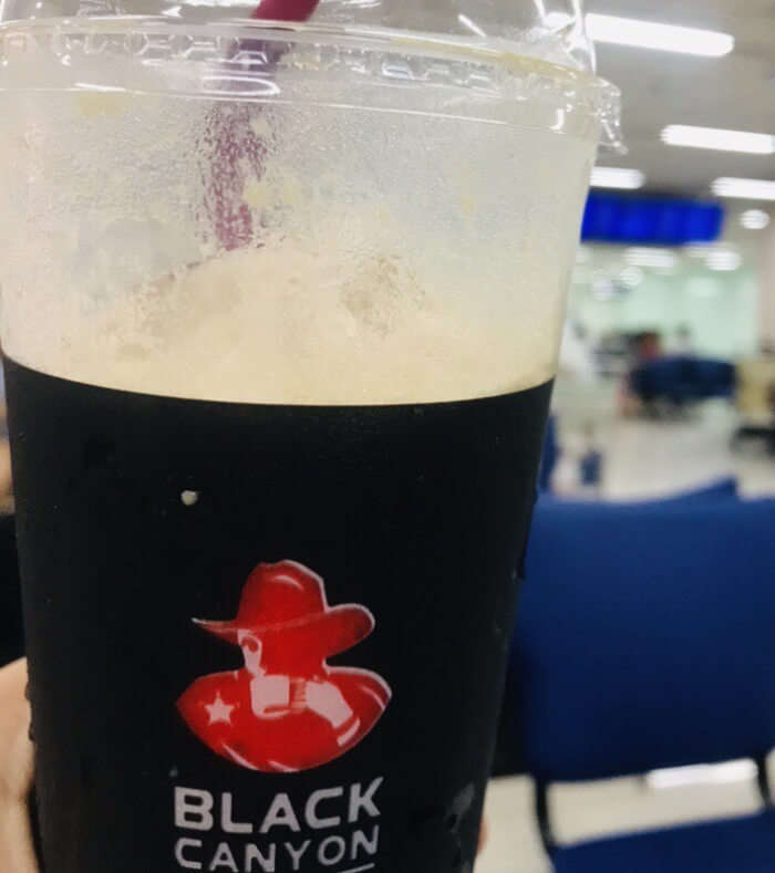 black canyon coffee in thailand