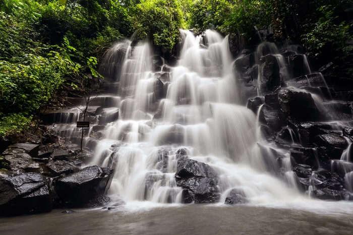 Amazing Kanto Lampo Waterfall In Bali