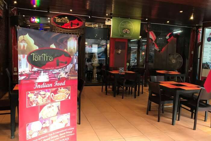finding the indian restaurant in thailand