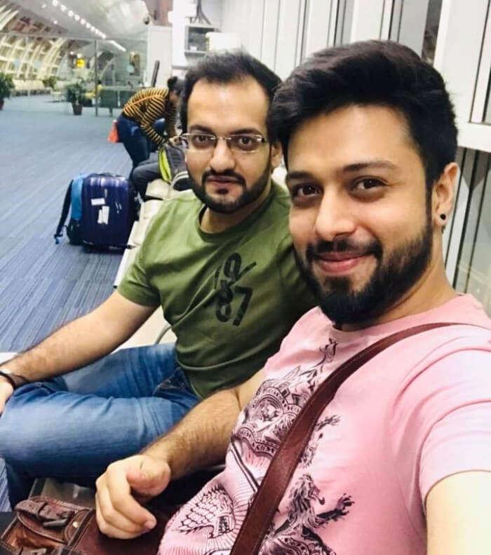 jaipur to bangkok flight selfie