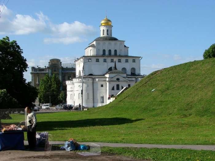 view of vladimir city