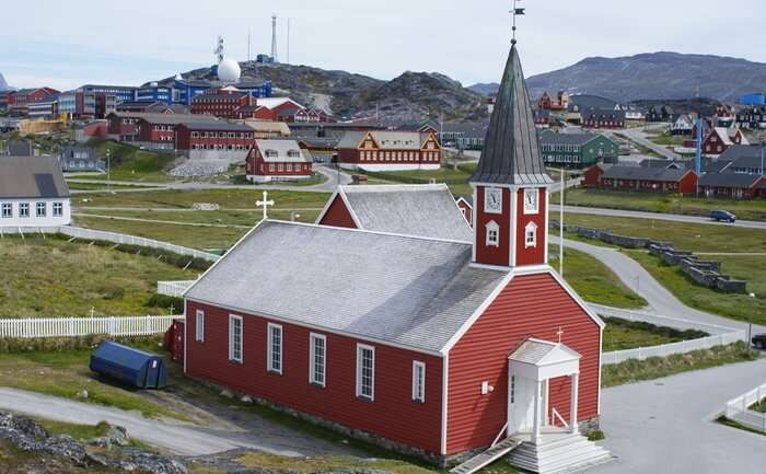 'Church of our Saviour' or Nuuk Cathedral