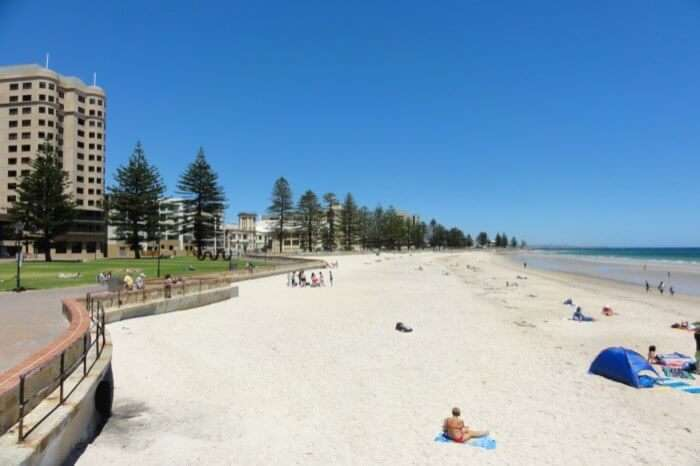 About Glenelg Beach