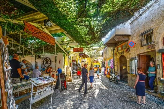 Aeolou and Agios Markos Streets