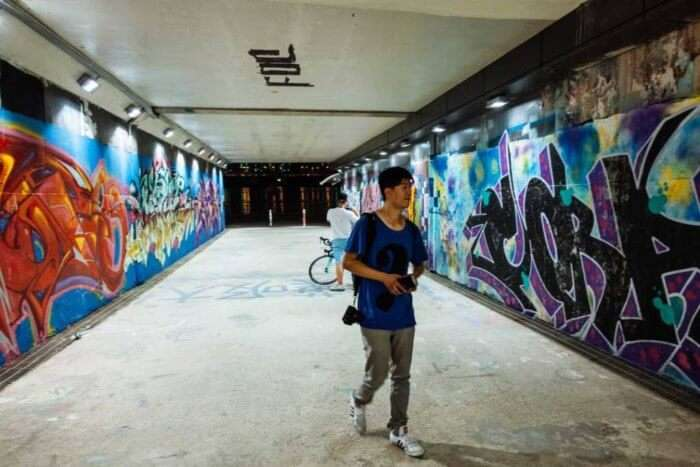 Apgujeong Graffiti Tunnel