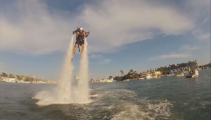 Aqua Jetpack Flying