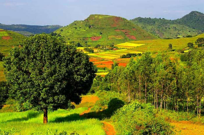 Araku Valley in India
