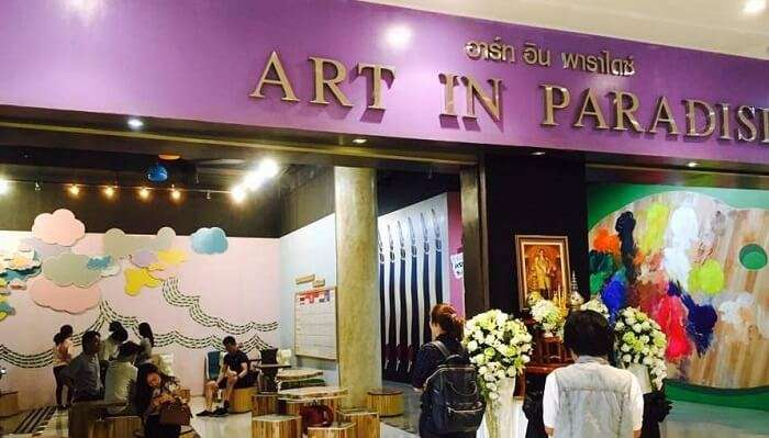 Art in Paradise In Bangkok