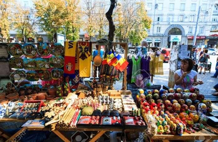 Art Market In Chisinau