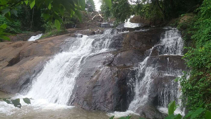 Aruvikkuzhi Waterfall View