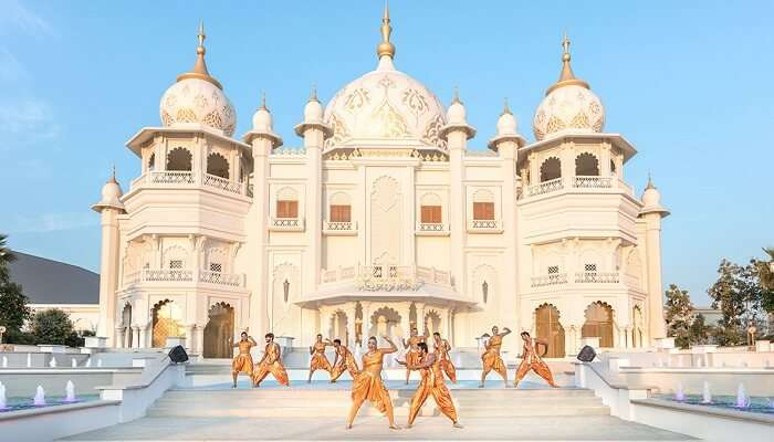 Bollywood Parks Dubai at dubai parks and resorts