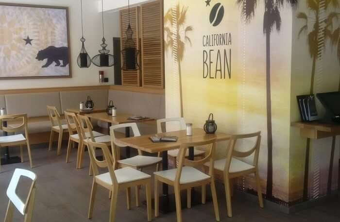 California Bean cafe