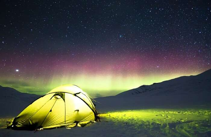 Camp under the stars in Barot Valley