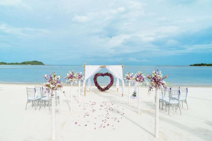 Sea Preparation Ocean Venue Sand Wedding Beach