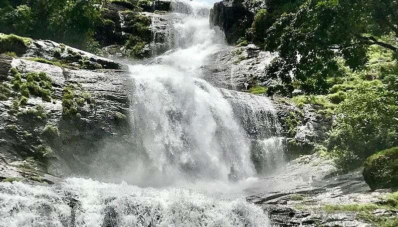 Cheeyaparra Waterfalls In Munnar