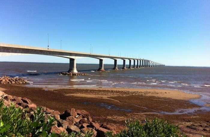 Bridge Ocean Pei Confederation Bridge