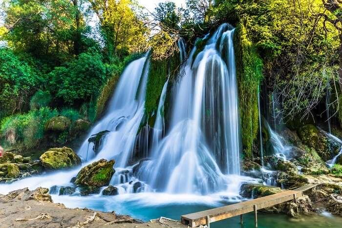 famous waterfalls in Montenegro