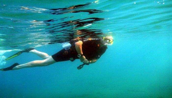 Amazing Scuba Diving In Bentota
