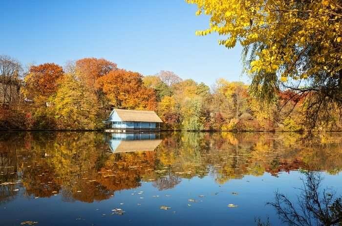 bucharest lakes