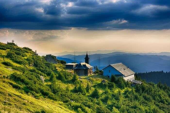 beautiful town in moldova