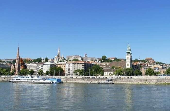 River Budapest City
