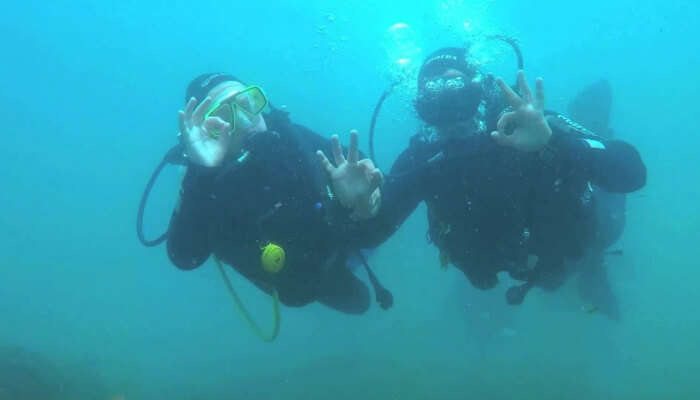 Dive Time, Lagos