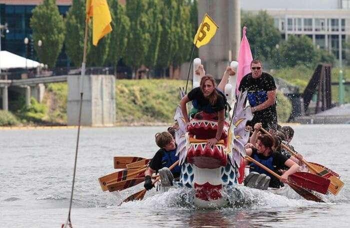 Dragon Boat Ride