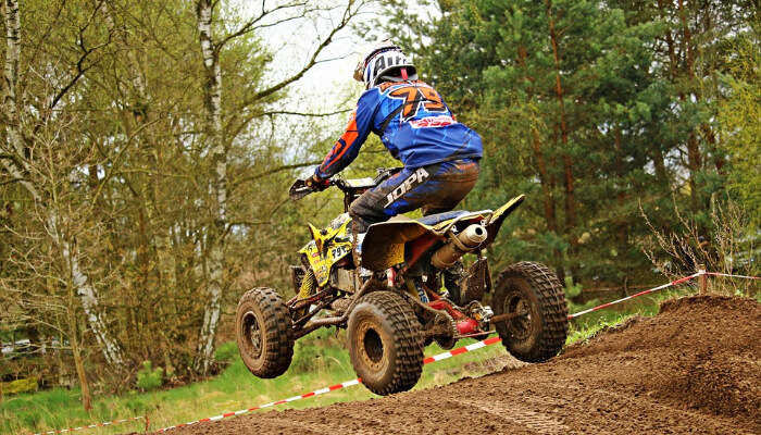 ATV bike ride