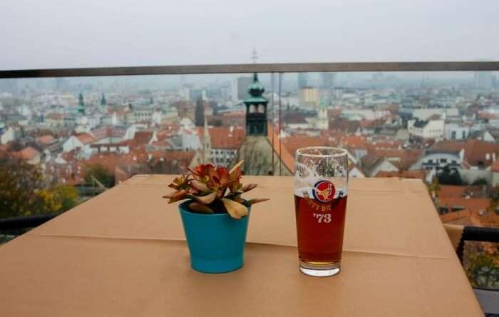 Eat at Bratislava Castle Restaurant