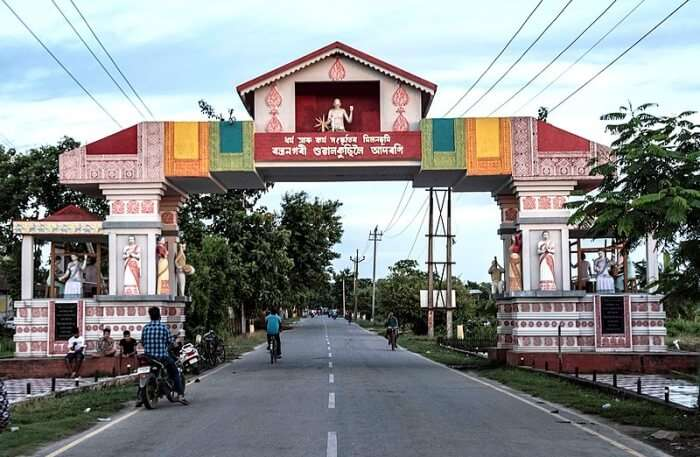 Main Gate to Sualkuchi
