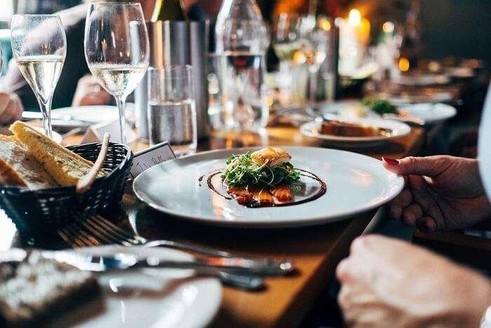 Enjoy The Lip Smacking Dinner At Lotus Restaurant