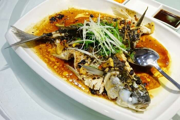 Meal Seafood Fish