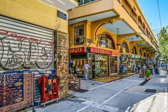 Glyfada market place
