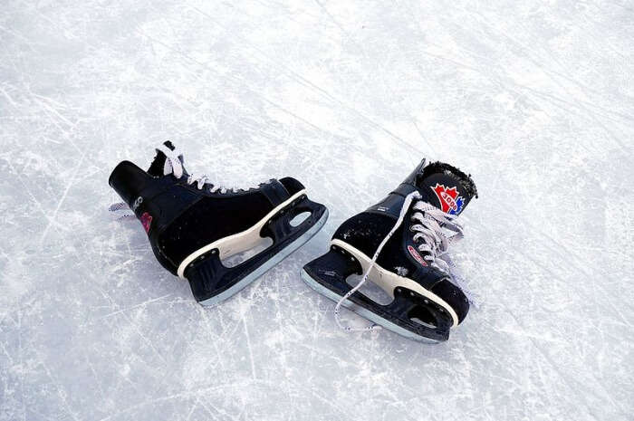 Go ice skating and sledding